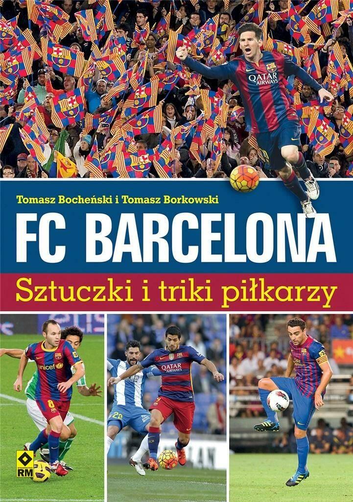 FC Barcelona. Sztuczki i triki piłkarzy.