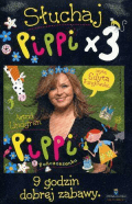 Słuchaj Pippi x 3 CD Mp3