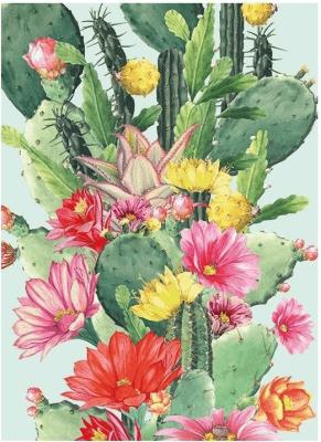 Karnet B6 z kopertą Cactus Flower - Museums & Galleries - Książki Kalendarze, gadżety i akcesoria