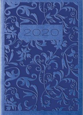 Kalendarz 2020 Tygod. A7 Vivella Zgaszony niebies. - Lucrum - Książki Kalendarze, gadżety i akcesoria