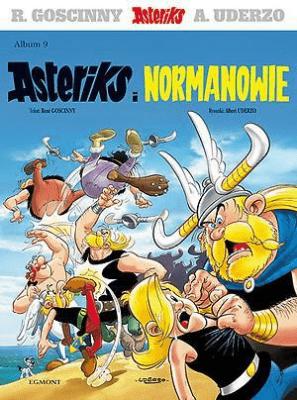 Asteriks i Normanowie. Asteriks Album 09 - UderzoAlbert, GoscinnyRene - Książki Komiksy