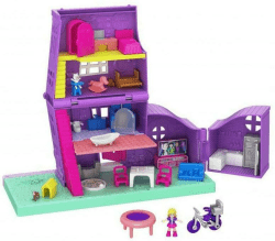 Polly Pocket. Domek Polly Pollyville