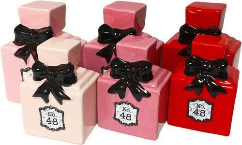 Skarbonka ceramiczna Flakon M 3 kolory ROZETTE