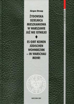 Żydowska dzielnica mieszkaniowa w Warszawie już nie istnieje! - StroopJurgen - Książki Historia, archeologia