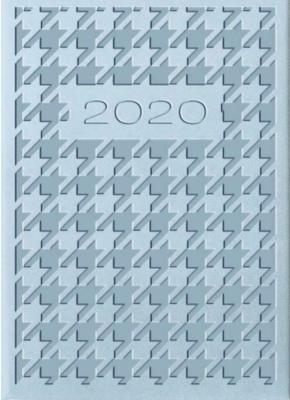 Kalendarz 2020 Tygodniowy A7 Vivella Błękit 01T20 - Lucrum - Książki Kalendarze, gadżety i akcesoria
