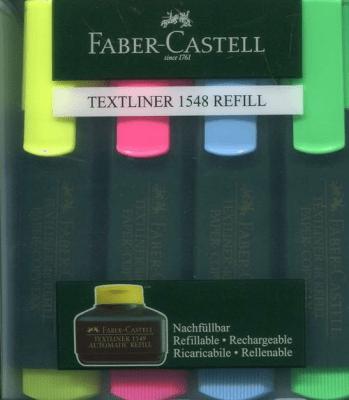 Zakreślacze - Zakreślacz Textliner 4 kolory