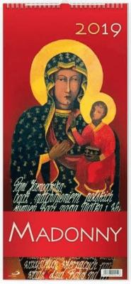 Kalendarz 2019 Madonny - Edycja Świętego Pawła - Książki Kalendarze, gadżety i akcesoria