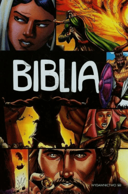 Biblia komiks. - CarielloSergio - Książki Religioznawstwo, nauki teologiczne