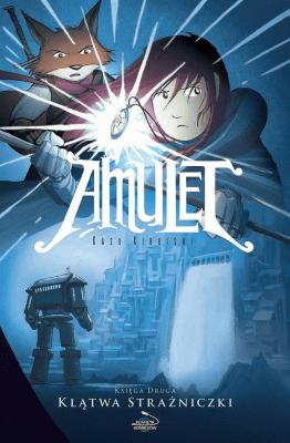 Amulet T.2 Klątwa Strażniczki - KibuishiKazu - Książki Komiksy