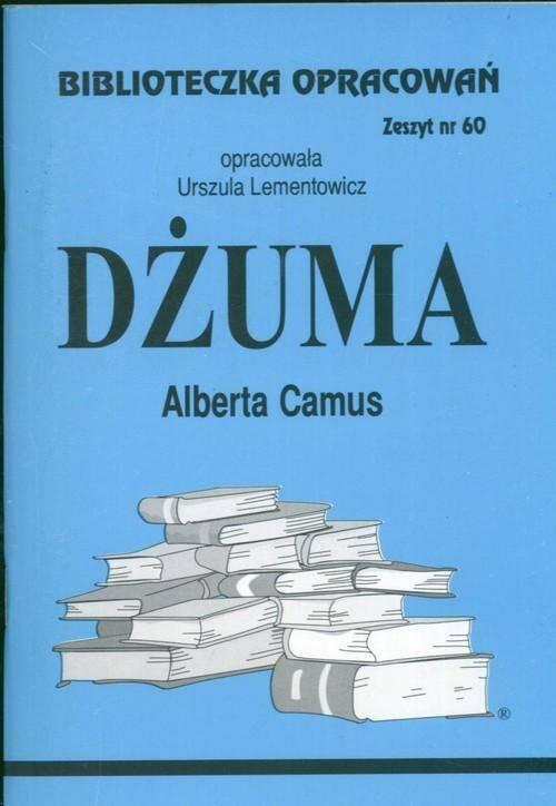 Biblioteczka Opracowań Dżuma Alberta Camus