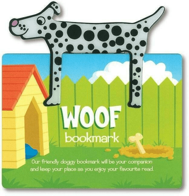 Zwierzęca zakładka do książki - Woof - Pies - IF - Książki Literatura piękna