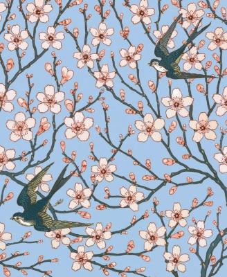 Karnet 17x14cm z kopertą Almond Blossom and Swallo - Museums & Galleries - Książki Kalendarze, gadżety i akcesoria