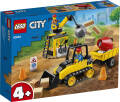LEGO® City. Great Vehicles. Buldożer budowlany. 60252.