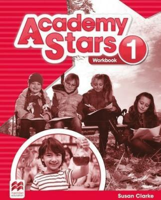 Academy Stars 1 WB MACMILLAN - Susan Clarke - Książki Książki do nauki języka obcego