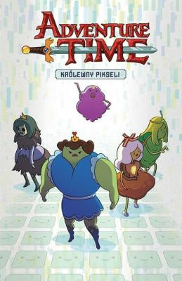 Adventure Time T.2 Królewny pikseli - CorsettoDanielle - Książki Komiksy