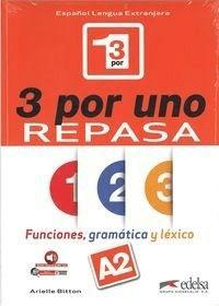 3 por uno poziom A2 Podręcznik - BittonArielle - Książki Książki do nauki języka obcego