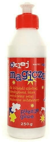 Klej introligatorski Magic. 250g butelka.