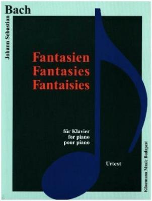 Bach. Fantasien fur Klavier - praca zbiorowa - Książki Podręczniki do szkół podst. i średnich