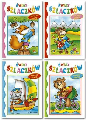 (058) Świat Szlaczków MIX - praca zbiorowa - Książki Książki dla dzieci
