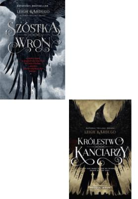 Bardugo x2 Szóstka wron + Królestwo kanciarzy  - BardugoLeigh - Książki Fantasy, science fiction, horror