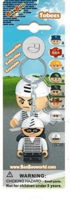 Breloczek - figurka BanBao Złodziej - BanBao - Książki Kalendarze, gadżety i akcesoria