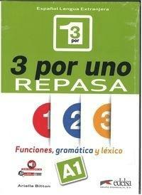 3 por uno poziom A1 Podręcznik - BittonArielle - Książki Podręczniki do szkół podst. i średnich