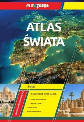 Atlas Świata EuroPilot - Opracowaniezbiorowe - Książki Mapy, przewodniki, książki podróżnicze