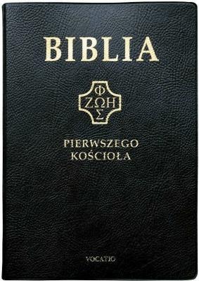 Biblia pierwszego Kościoła (czarna) - ks. Remigiusz Popowski - Książki Religioznawstwo, nauki teologiczne