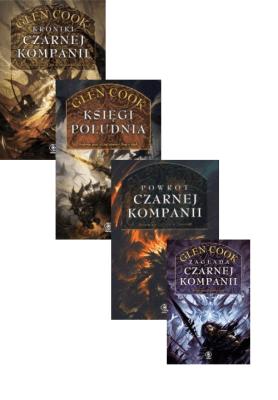 Cykl Czarna Kompania 4 książki (10 tomów) - CookGlen - Książki Fantasy, science fiction, horror