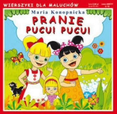 Wierszyki Pranie Pucu Pucu Konopnicka Maria Książki