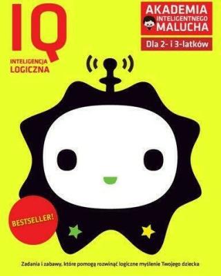 AIM.IQ inteligencja logiczna dla 2-3 latków - praca zbiorowa - Książki Podręczniki do szkół podst. i średnich