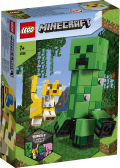 LEGO® Minecraft™. BigFig Creeper™ i Ocelot. 21156.