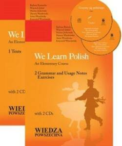 We learn polish. An Elementary Course. 1 Texts + 2 CD.