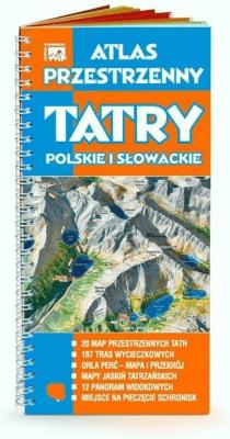 Atlas przestrzenny. TATRY Polskie i Słowackie WIT - Opracowaniezbiorowe - Książki Mapy, przewodniki, książki podróżnicze