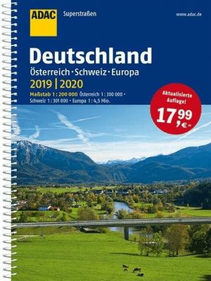 ADAC SuperStrassen Niemcy, Austria... 2019/2020 - praca zbiorowa - Książki Mapy, przewodniki, książki podróżnicze