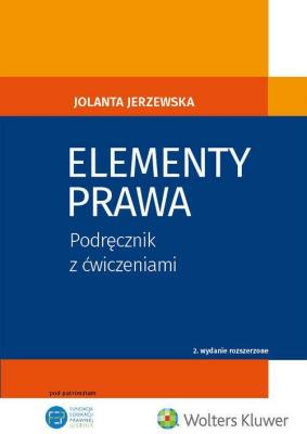 Elementy prawa - JerzewskaJolanta - Książki Prawo, administracja