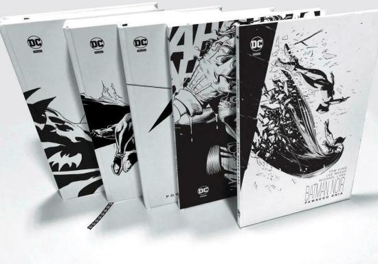 Batman Noir. Pakiet. Jubileuszowa kolekcja komiksów. - praca zbiorowa - Książki Komiksy