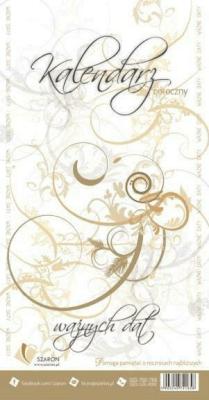 Kalendarz coroczny - ważnych dat - Szaron - Książki Kalendarze, gadżety i akcesoria