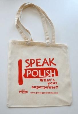 I speak Polish. Torba - Prolog - Książki Kalendarze, gadżety i akcesoria