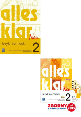 Alles Klar Neu 2. Pakiet: Podręcznik / Zeszyt ćwiczeń. Język niemiecki. Zakres podstawowy. - ŁuniewskaKrystyna, WąsikZofia, TworekUrszula - Książki Podręczniki do szkół podst. i średnich