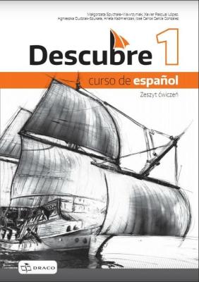 Descubre 1 Zeszyt ćwiczeń NPP DRACO - praca zbiorowa - Książki Książki do nauki języka obcego