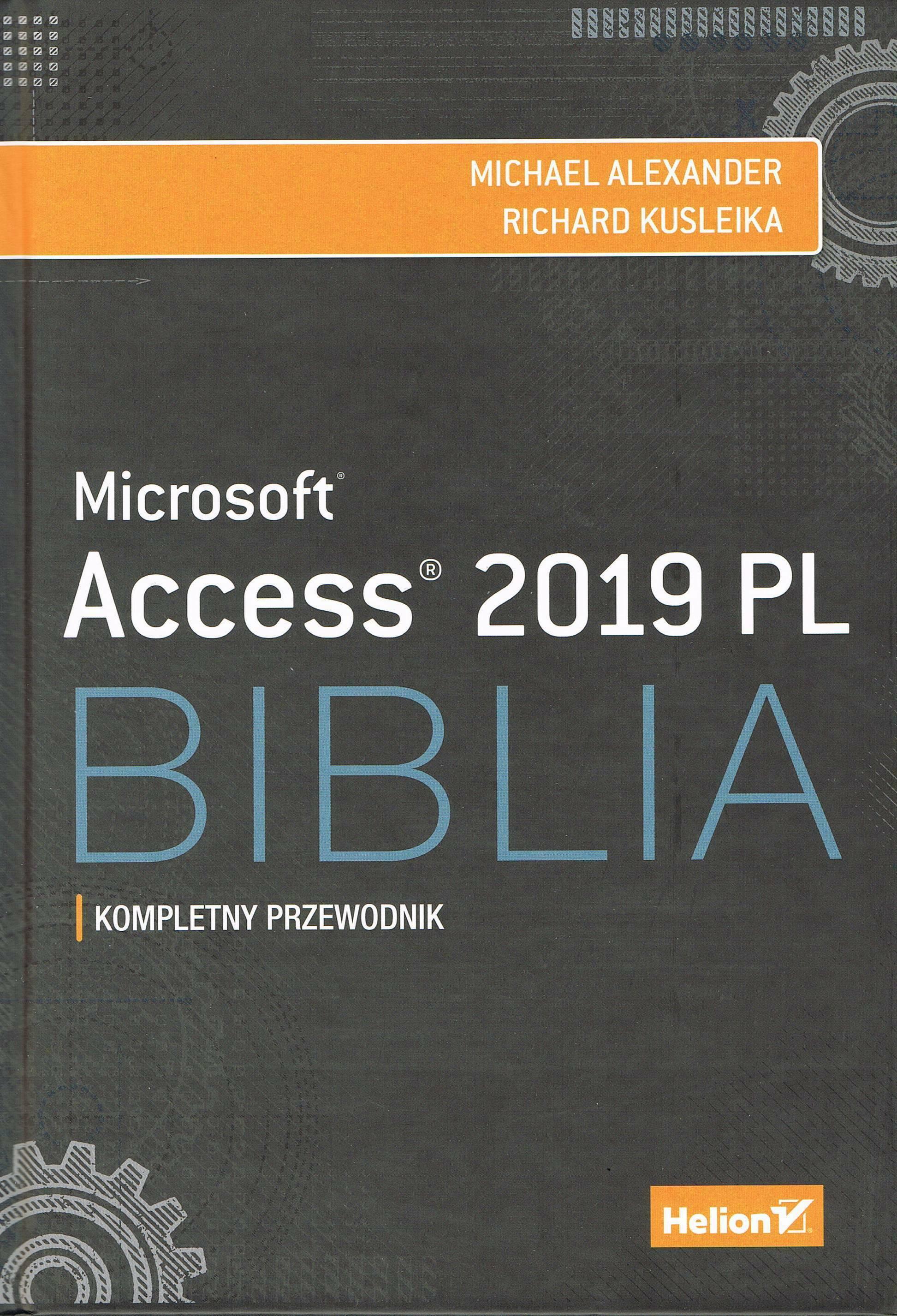 Access 2019 PL. Biblia.