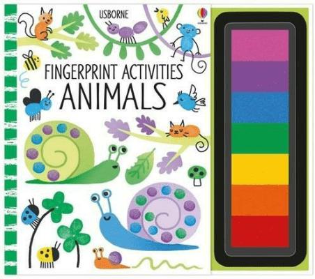 Fingerprint activities Animals - WattFiona - Książki Książki obcojęzyczne