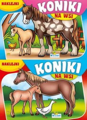 (206) Koniki na wsi MIX - praca zbiorowa - Książki Książki naukowe i popularnonaukowe