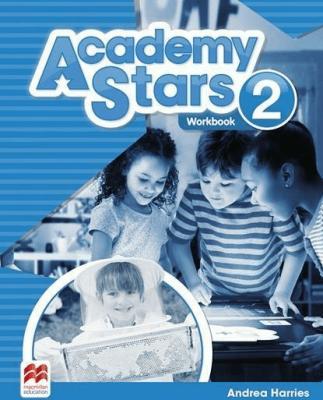 Academy Stars 2 WB MACMILLAN - Andrea Harries - Książki Książki do nauki języka obcego