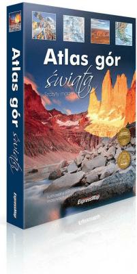 Atlas gór świata. Szczyty marzeń - Opracowaniezbiorowe - Książki Mapy, przewodniki, książki podróżnicze
