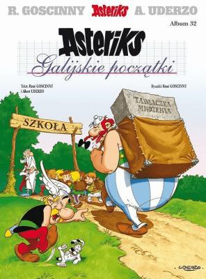 Asteriks. Album 32 Galicyjskie początki - UderzoAlbert, GoscinnyRene - Książki Komiksy