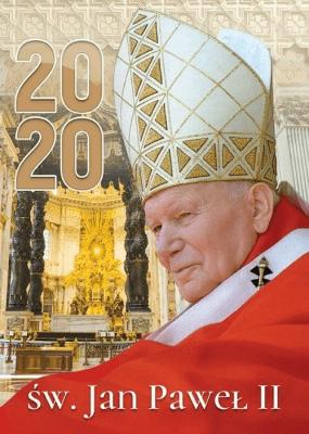 Kalendarz 2020 Ścienny św.Jan Paweł II ekonomiczny - Wydawnictwo Duszpasterstwa Rolników - Książki Kalendarze, gadżety i akcesoria