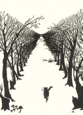Karnet B6 z kopertą The Cat that walked by himself - Museums & Galleries - Książki Kalendarze, gadżety i akcesoria