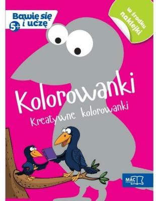 Bawię się i uczę. Pięciolatek Kolorowanki - Opracowaniezbiorowe - Książki Podręczniki do szkół podst. i średnich